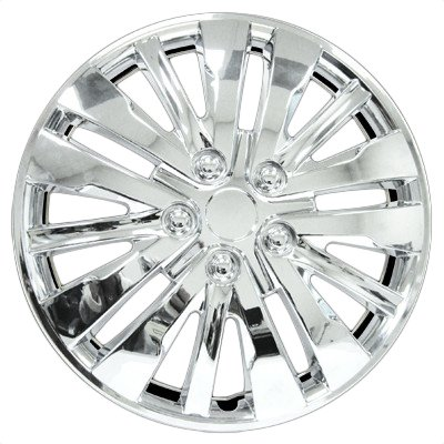"HS 45.684 Set Of 4 16"" Chrome Wheel Covers"