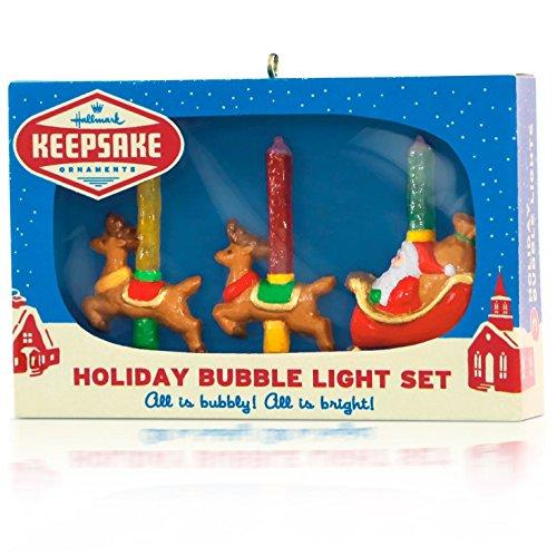 Vintage Holiday Bubble Lights Ornament 2015 Hallmark