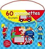 Les pompiers - 60 gommettes