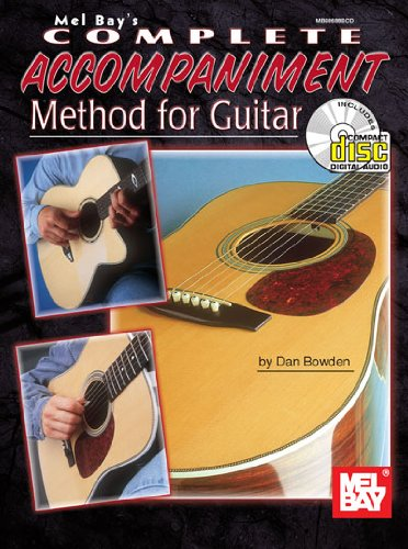 Mel Bay Complete Accompaniment Method for Guitar Book/CD Set