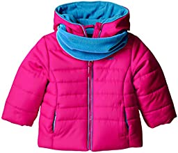 Pacific Trail Little Girls39 Puffer Coat with Neck Warmer