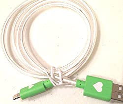 Glowing 8-pin iPhone Data Cable - Green