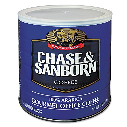 Office Snax 33000 Coffee Regular 34.5 Oz. Can (Chase And Sanborn Coffee compare prices)
