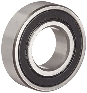 Dynaroll R-Series Ball Bearing, Double Sealed, 52100 Chrome Steel