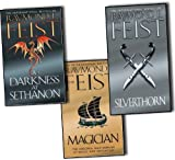 Raymond E. Feist Raymond E. Feist Riftwar Saga 3 Books Collection Set RRP: 26.97 (Magician, A Darkness at Sethanon, Silverthorn) NEW