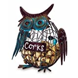 Owl Cork Caddy - Cage