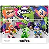Inkling Boy, Girl, and Squid 3-pack