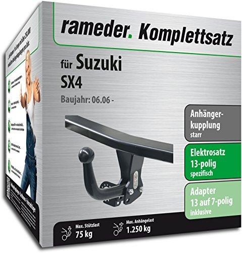 RAMEDER-Komplettsatz-Anhngerkupplung-starr-13pol-Elektrik-fr-Suzuki-SX4-113579-05566-1