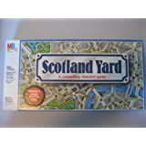 Scotland Yard - A Compelling Detective Game by Milton Bradley