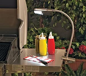 Solar Cordless LED Grill Light