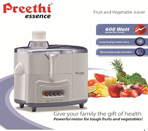 Preethi Essence CJ 101 600-Watt Juicer