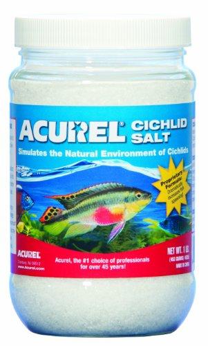Imagen de Sal de cíclidos africanos Acurel LLC, acuario y tratamiento de agua de estanque, 1 libra
