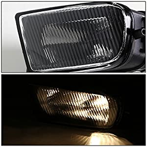 Bmw E39 5-seriesz3 Clear Lens Oe Bumper Fog Light Pair Driverpassenger Side by Auto Dynasty