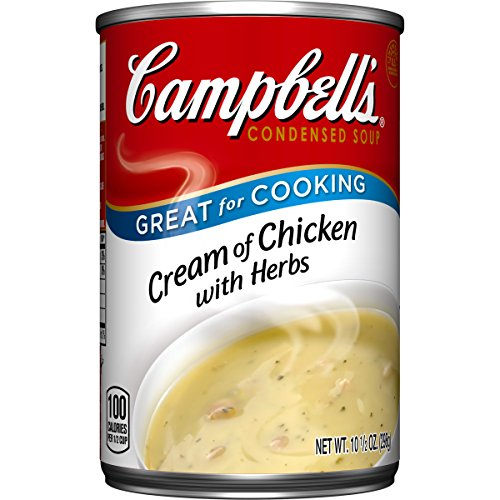 Campbell's Condensed Soup, Cream of Chicken with Herbs, 10.5 Ounce (Pack of 12) (Condensed Cream compare prices)