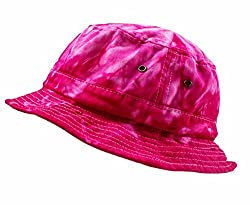 Colortone Bucket Hats Youth Spider Pink