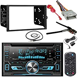 double din car radio installation package for replacing a premium kenwood dpx502bt 2 din bluetooth cd mp3 reciever metra installation kit wire