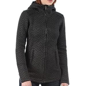 Bench Veste tricotée Zaggle pour femme Noir noir marbré 34