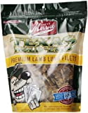 Merrick Texas Hold em's Lamb Lung Fillets Training Treats for Dogs, 12-Ounce