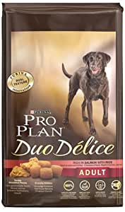 Pro Plan Dog Adult Duo Delice Hundefutter Lachs und Reis, 1 Packung (1 x 10 kg)