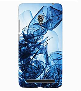 ColourCraft Abstract Image Design Back Case Cover for ASUS ZENFONE 6 A600CG