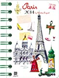 Paris 2014 Taschenkalender Deluxe