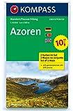 Azoren: Wanderkarten-Set. GPS-genau. 1:50000 (KOMPASS-Wanderkarten)