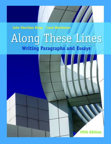 Along These Lines: Writing Paragraphs and Essays (with MyWritingLab Student Access Code Card) (5th Edition)