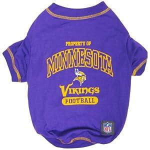 Pets First NFL Minnesota Vikings T-Shirt, Medium