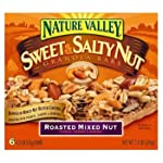 Nature Valley Sweet & Salty Roasted Mixed Nut Granola Bars 7.4 oz (Pack of 12)