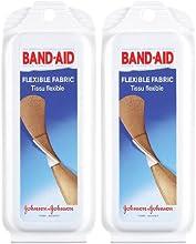 Band-Aid Flexible Fabric Adhesive Bandages Travel Pack 2 pk