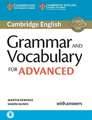 Grammar and Vocabulary for Advanced Book with Answers and Audio (Cambridge Grammar for Exams)