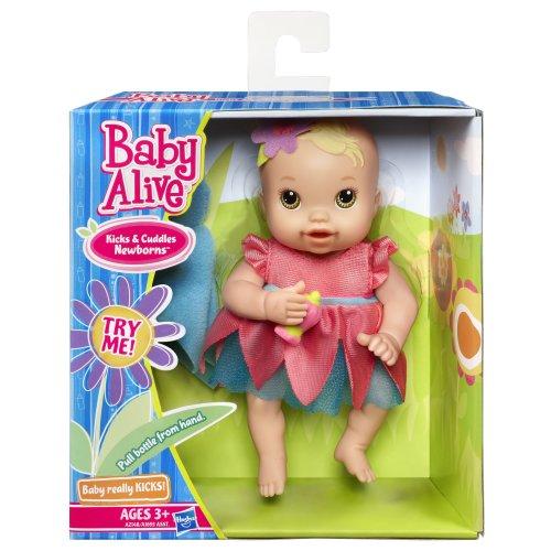 Baby Alive Kicks N Cuddles Newborn