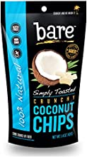 Bare Simply Toasted Coconut Chips Gluten Free  Baked 12 Count
