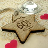 Womens 60th Birthday Gift, 60th Birthday Gift for her, 60th Birthday wooden gifts, 60th ideas, personalised 60th birthday gifts