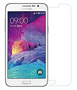 SNOOGG Pack 4 Samsung Galaxy J7Full Body Tempered Glass Screen Protector [ Full Body Edge to Edge ] [ Anti Scratch ] [ 2.5D Round Edge] [HD View] - White