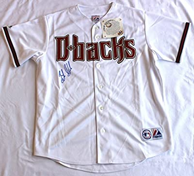 Braden Shipley Signed Arizona Diamondbacks MLB Jersey Authentic Autograph