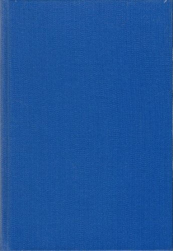 The Musical Quarterly. Vol. 24. Nos. 1-4. 1938 - Bound Four Single Issues in Blue Buckram PDF
