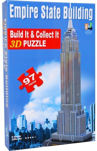 Picture of Go! Games Empire State Building 97 Piece 3-D Puzzle (B0051WHVBI) (3D Puzzles)