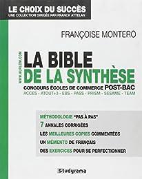 La  bible de la synthèse aux concours des écoles de commerce post-bac