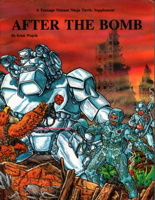 After The Bomb (A Teenage Mutant Ninja Turtle Supplement)