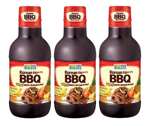 Chung Jung One BBQ Marinade Sauce: Bulgogi (33.8Oz) (960G) (Pack Of 3)