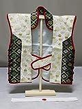 男児用 京都・陣羽織 初節句祝い品 子供用ハチマキ付の陣羽織 ベビー用陣羽織 A0402