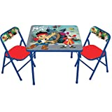 Disney Jake and the Neverland Pirates Activity Table and Chair Set