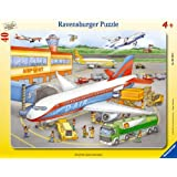 Ravensburger 06700 - Kleiner Flugplatz, 40 Teile Rahmenpuzzle