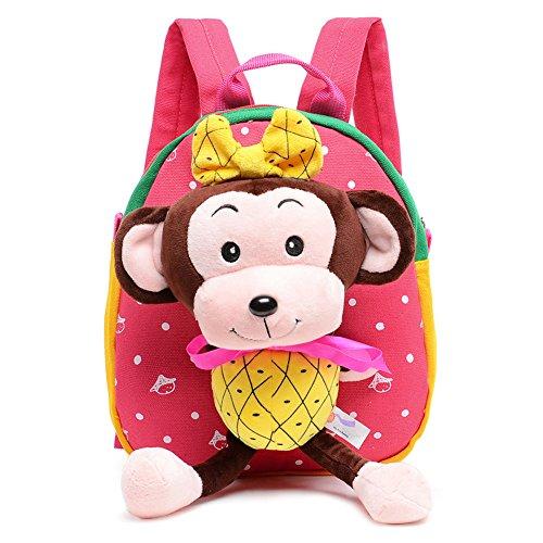 Toddler-Pre-School-Backpack-Children-Cute-Animal-Backpacks-Bags-Monkey