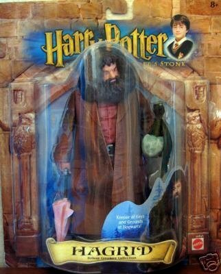 Picture of Mattel Harry Potter and the Sorcerer's Stone, Hagrid, Deluxe Creature Collection Figure (B000X30E82) (Harry Potter Action Figures)