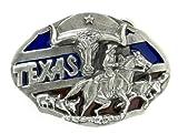 Texas Longhorns Pewter Belt Buckle - NCAA College Athletics Fan Shop Sports Team Merchandise