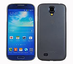 Jacket Ultra Slim and Thin Matte Case Back Cover for Samsung Galaxy S4 i9500 (Grey) Frosted Finish Smooth Touch