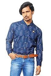 AFLASH Men's Printed Casual Shirt