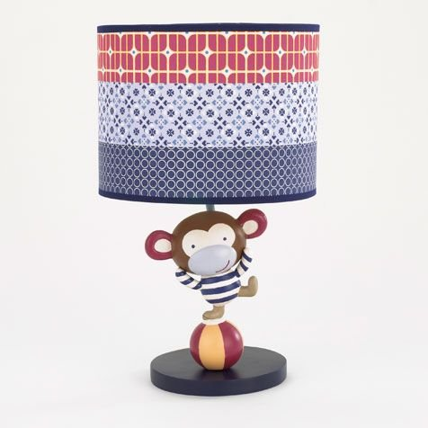 Cocalo Circus Act Nursery Lamp & Shade - 1